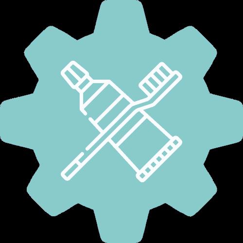 Preventative gear icon